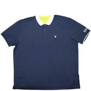 Nautica Big & Tall Blue Sail Tech Polo Shirt